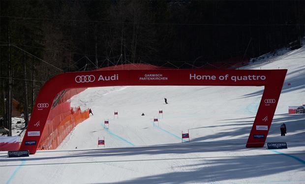 © Ch. Einecke (CEPIX) / Super-G der Damen in Garmisch-Partenkirchen