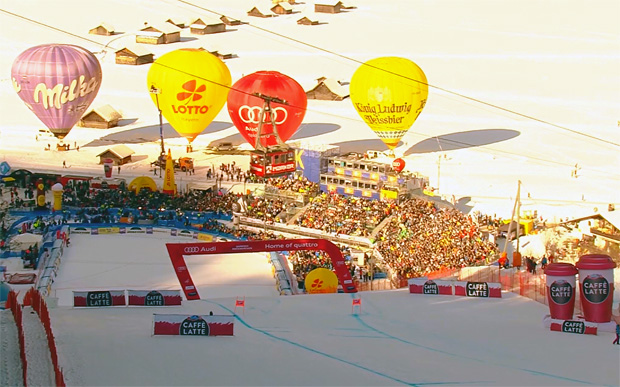 Auch in Garmisch-Partenkirchen müssen die Skifans draußen bleiben