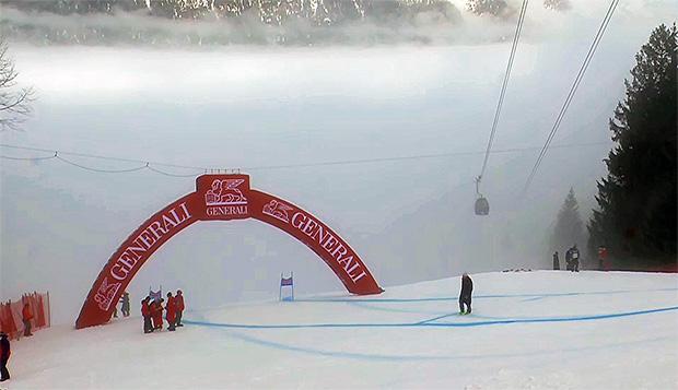 2. Super-G in Garmisch-Partenkirchen wegen Nebel auf Montag verschoben