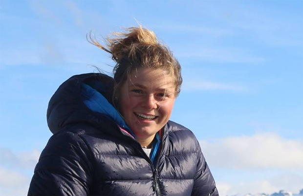 Schienbeinbruch: Verena Gasslitter zieht sich in Ushuaia erneut schwere Verletzung zu.  (Foto: Verena Gasslitter / Facebook privat)