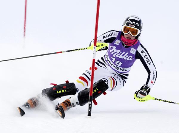 Nach vierwöchiger Pause steht Christina Geiger wieder auf Ski