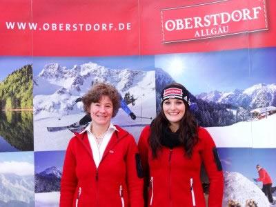 © 2012 Tourismus Oberstdorf / Christina Geiger und Heidi Thaumiller, Tourismusdirektorin von Oberstdorf