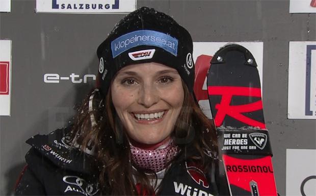 Christina Geiger ist zur Zeit der Lichtblick im DSV-Slalom-Team
