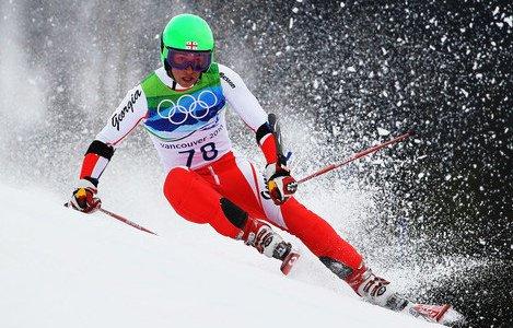 Jaba Gelashvili war mit 16 Jahren bei den Olympischen Spielen 2010 in Vancouver am Start