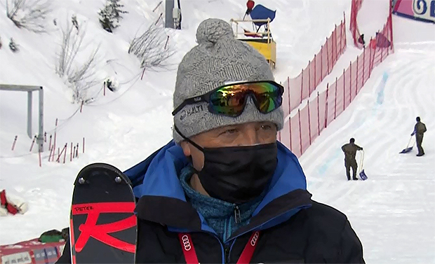 """FIS-Renndirektor Peter Gerdol: """"Ich bin mir sicher, dass wir um 13.15 Uhr starten."""""""