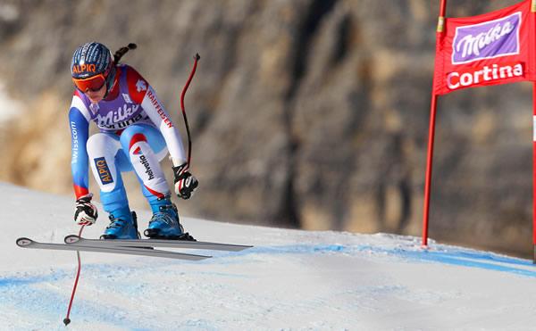 © Kraft Foods / Dominique Gisin - auf der Tofane in Cortina d'Ampezzo