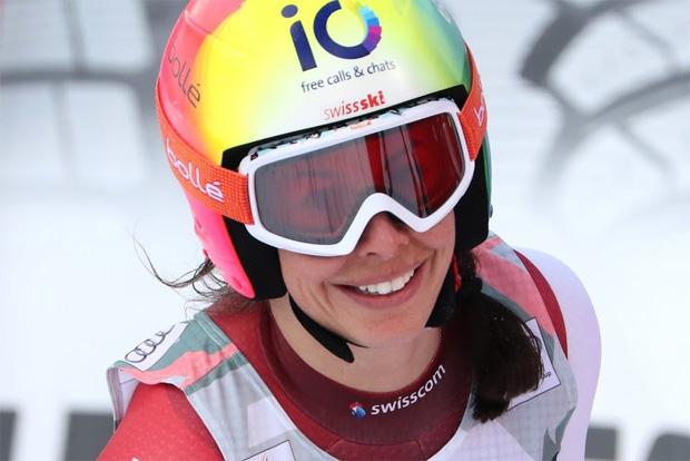 © Gerwig Löffelholz / Dominique Gisin krönt ihre Laufbahn mit Abfahrtmeistertitel 2015
