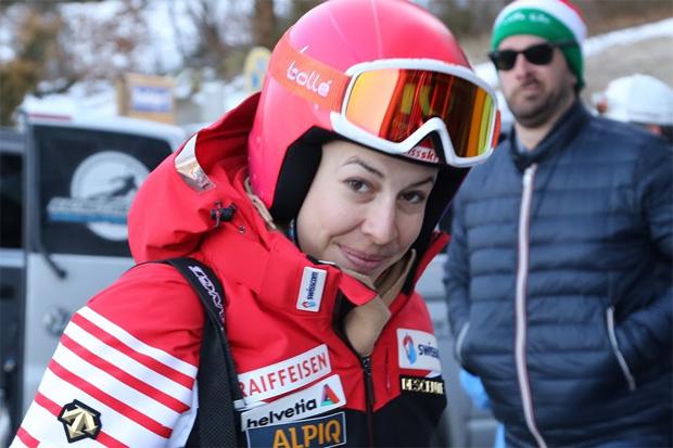 © Gerwig Löffelholz / Auch die Schweizer Olympiasiegerin Dominique Gisin (SUI) hat ihre Karriere beendet.