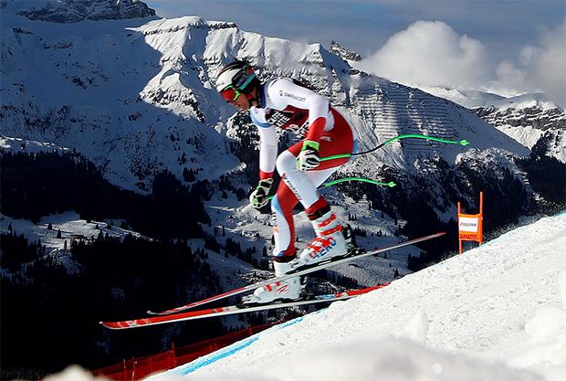 Marc Gisin steht wieder auf den Brettern  (© Archivo FISI/Pentaphoto/Alessandro Trovati)