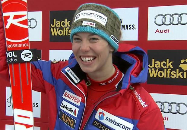 Michelle Gisin beendete den Slalom von Aspen auf Platz 16