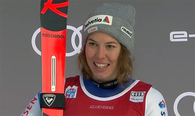 Michelle Gisin in Courchevel nicht am Start