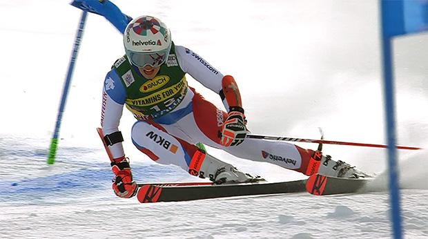 Michelle Gisin verpasste beim Ski Weltcup Auftakt in Sölden das Podest nur knapp