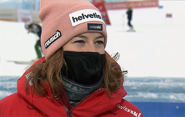 Michelle Gisin wird in Garmisch-Partenkirchen nicht an den Start gehen