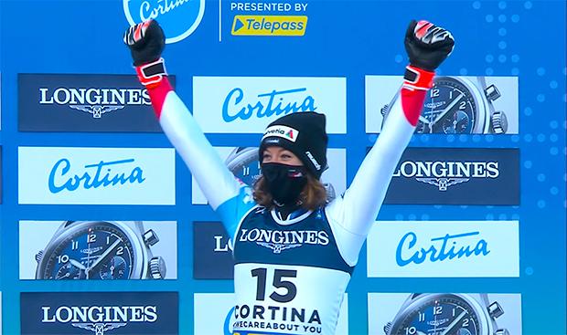 Ski-WM 2021: Michelle Gisin steckt den Ausfall im WM-Slalom locker weg