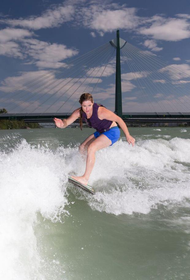 Lizz Görgl macht nicht nur auf den Skiern eine gute Figur (Foto: Lefti Frühmann)