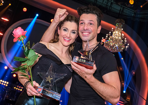 Dancing-Star Lizz Görgl überzeugte alle und holte sich den Sieg (© ORF/Hans Leitner)