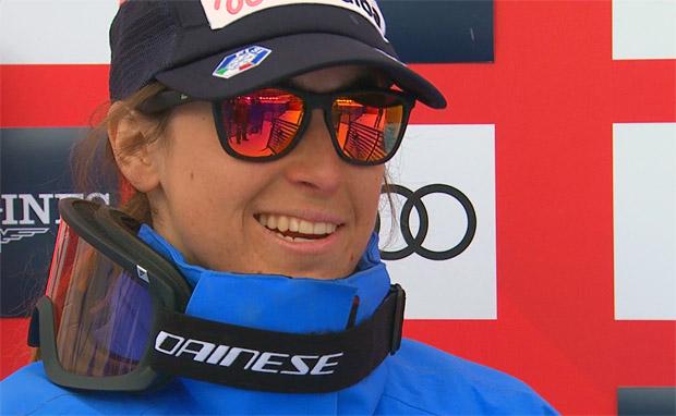 Goggia führt nach WM-Kombiabfahrt - Michelle Gisin und Wendy Holdener greifen nach Gold