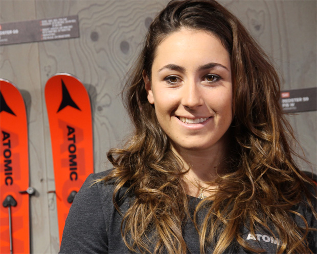 Dem Knie von Sofia Goggia geht es besser (Foto: Skiweltcup.TV / Walter Schmid)
