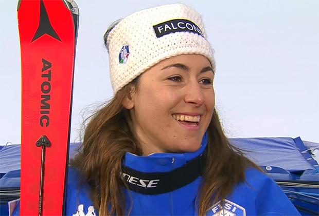 Sofia Goggia gewinnt Freitagsabfahrt in Cortina d'Ampezzo