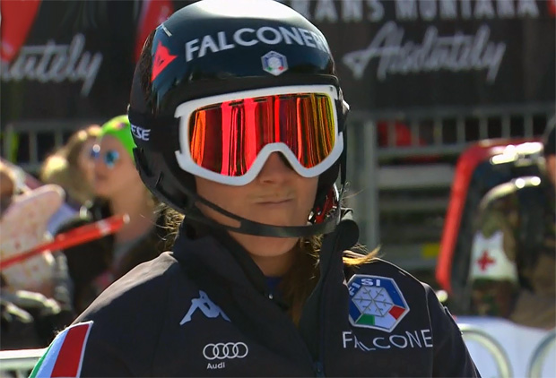 Sofia Goggia liegt nach Kombi-Super-G in Führung