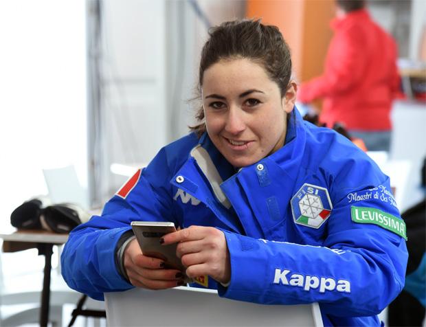 Comeback-Pläne: Sofia Goggia steht wieder auf den Skiern (Foto: Pier Marco Tacca/Pentaphoto)