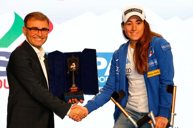 © Archivo FISI / Sofia Goggia zur Nummer 1 im italienischen Wintersport gewählt (Photo: Marco Trovati /Pentaphoto)