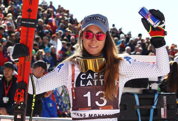 Freude bei Atomic: Sofia Goggia unterschreibt bis Olympia 2022 (Foto: Archivo FISI / Pentaphoto/Alessandro Trovati.)