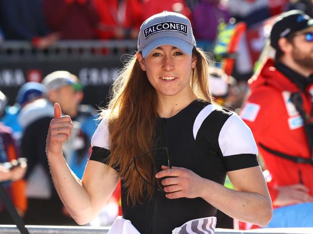 Sofia Goggia dominiert 1. Abfahrtstraining beim Weltcupfinale in Soldeu (Foto: Arichivo FISI/Pentaphoto/Alessandro Trovati)