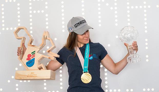 Sofia Goggia zur WM-Botschafterin 2021 in Cortina d'Ampezzo ernannt (© Foto: Sofia Goggia)