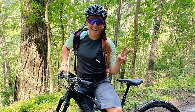 Sofia Goggia: Training und Erholung mit dem E-Bike (Foto: © Sofia Goggia / Instagram)