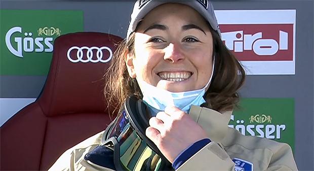 Sofia Goggia gewinnt Abfahrt von St. Anton am Arlberg