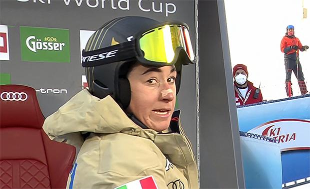 Sofia Goggia behält im 1. Abfahrtstraining von Crans-Montana die Oberhand