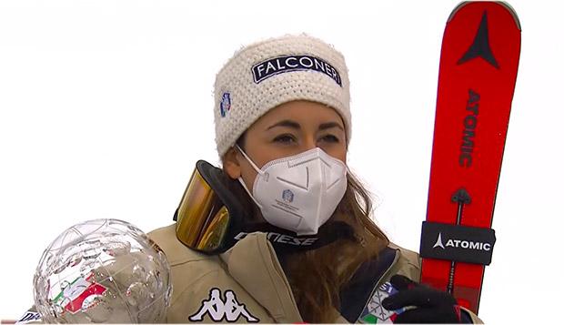 Sofia Goggia ist Abfahrts-Weltcupsiegerin der Saison 2020/21