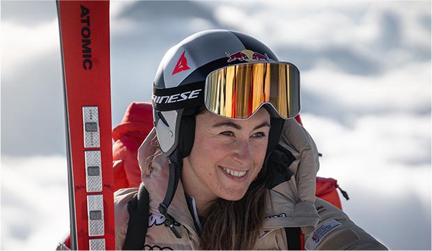 Wird Sofia Goggia die Tricolore bei den Olympischen Winterspielen in Peking tragen (Foto: © Atomic Austria GmbH)