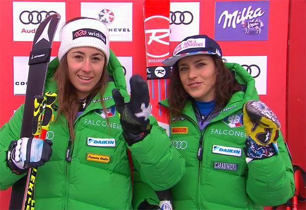 Sofia Goggia und Federica Brignone führen starke Squadra Azzurra an