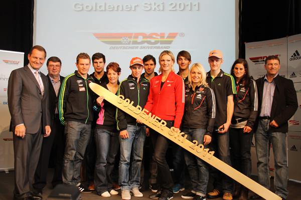 Die Preisträger 2011 in den verschiedenen Disziplinen