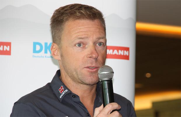 DSV-Damen-Bundestrainer Jürgen Graller im Skiweltcup.TV-Interview (Foto: Skiweltcup.TV / Walter Schmid)