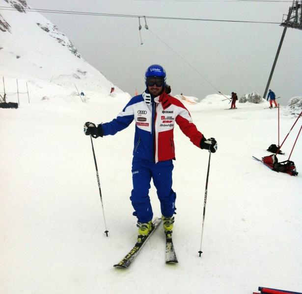 Jean-Baptiste Grange (FRA) ist zurück auf Ski