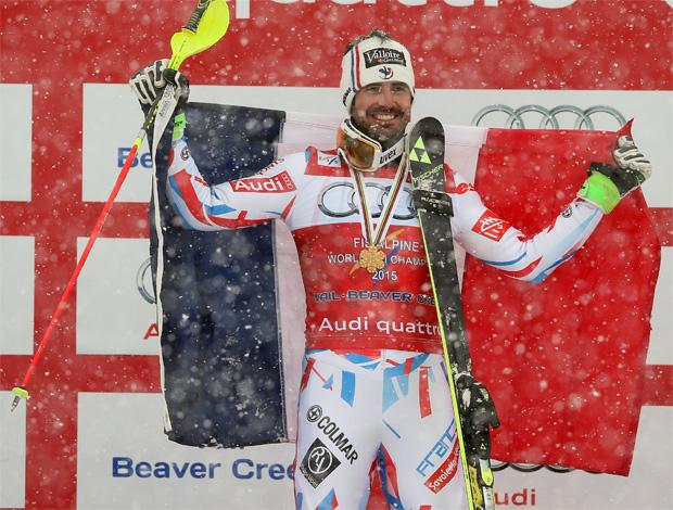 © GEPA/Fischers Sports / SKI WM 2015: Grange holte zum WM-Abschluss sensationell Slalom-Gold