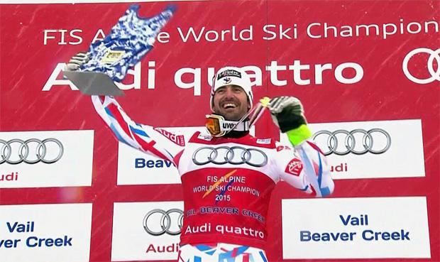 Weltmeister Grange freut sich auf die letzten beiden Slalomrennen