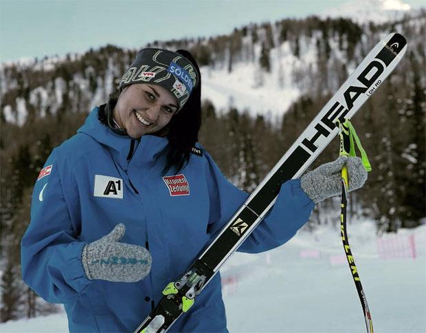 Franziska Gritsch gewinnt 2. Super-G der Damen in Innerkrems (Foto: Franziska Gritsch / Facebook)