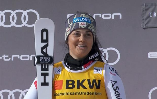 ÖSV News: Franziska Gritsch feiert Podest bei der Alpinen Kombination in Crans Montana
