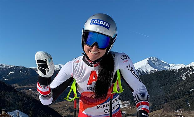 Auch Franziska Gritsch ist in das ÖSV Nationalteam der Damen aufgestiegen.  (Foto: Franziska Gritsch / privat)