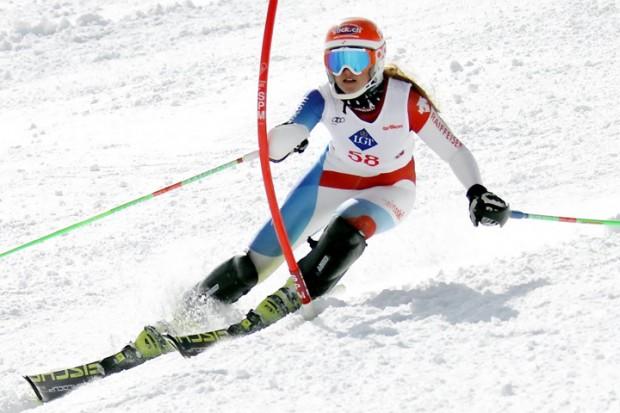 © Gerwig Löffelholz / Siegerin Frauen U18:  1. Nathalie Gröbli (SC Emmetten)