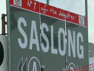 Die Saslong präsentiert sich in gutem Zustand