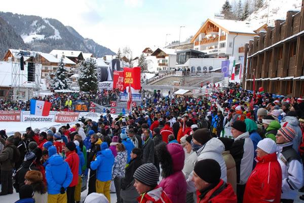 Gröden freut sich auf die Ski Weltcup Rennen 2012