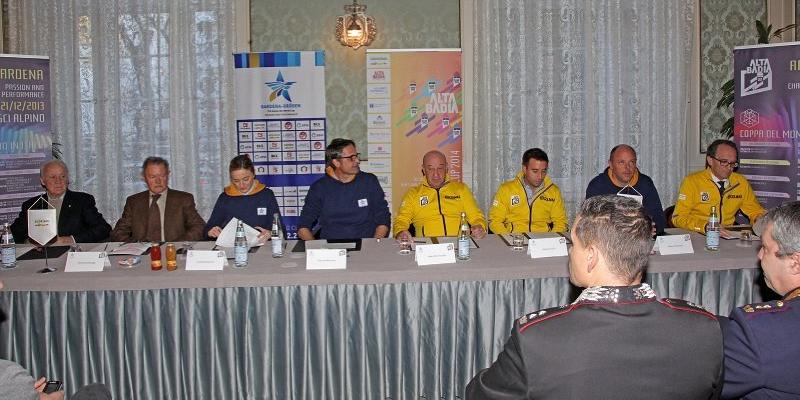 © saslong.org / Pressekonferenz in Bozen