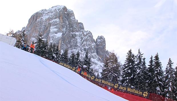 Saslong-Inspektion in Hinblick auf die Ski Weltcup Saison 2021/22