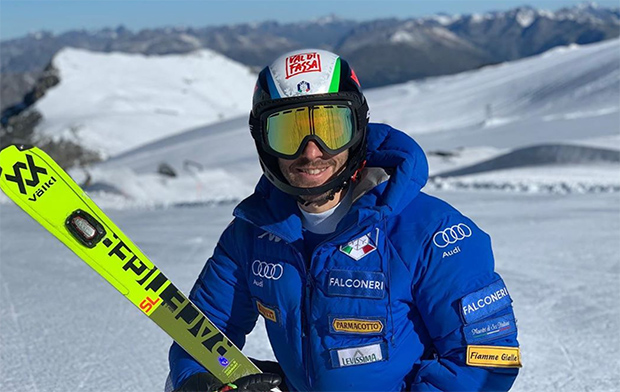 Stefano Gross peilt die Top-7 im Slalom an (Foto: © Stefano Gross / Instagram)