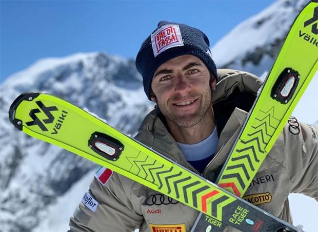 Stefano Gross bleibt seinem Ski-Ausrüster Völkl treu (Foto: © Stefano Gross / Instagram)